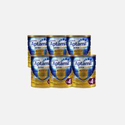 澳洲直邮【包邮包税】六罐 Karicare Aptamil可瑞康爱他美金装 婴儿牛奶粉4段 900g