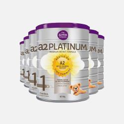 六罐 A2白金系列婴幼儿奶粉1段900g 包邮包税澳洲直邮