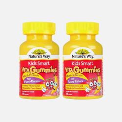 2瓶包邮包税澳洲直邮Nature's Way 儿童维生素挑食配方软糖 60粒*2