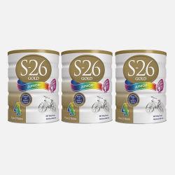 澳洲直邮【包邮包税】Wyeth惠氏S-26 金装婴幼儿奶粉4段(2岁以上) 900g*3罐 新老包装随机发货