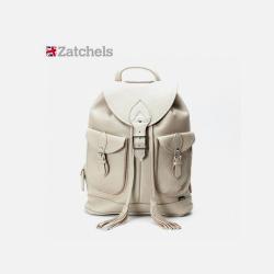 英国直邮【包邮包税】Zatchels 贝尔格雷双肩背包【私人纯手工制作30天完成发货,下单后不退不换, 介意勿拍】