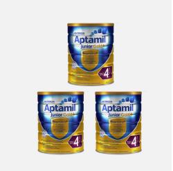 澳洲直邮【包邮包税】Karicare Aptamil可瑞康爱他美金装 婴儿牛奶粉4段 900g *3罐