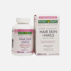 Nature's Bounty/自然之宝 发肤指甲强效胶原蛋白胶囊250粒 (美国直邮/包邮包税)