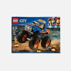 美国直邮【包邮包税】乐高LEGO拼装积木玩具城市好朋友创造者系列 60180怪物卡车 192粒