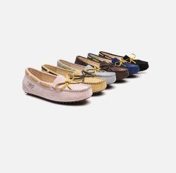 澳洲直邮【包邮包税】EVERUGG内增高3cm豆豆鞋防水休闲鞋 2018新款
