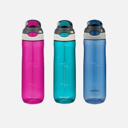 美国直邮【包邮包税】Contigo康迪克防漏水壶成人运动水杯三个裝 709ml