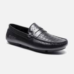 澳洲直邮【包邮包税】DK UGG Andes 初夏新款 头层牛皮 格纹男士单豆豆鞋 防滑耐磨