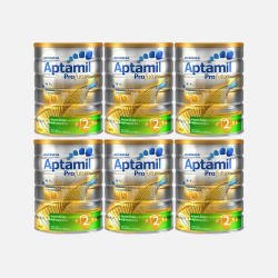 澳洲直邮【包邮包税】Aptamil爱他美白金版 婴儿牛奶粉2段 900g*6罐