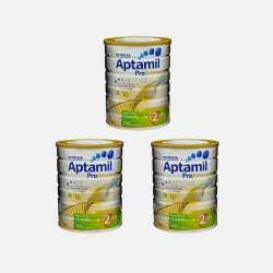 澳洲直邮【包邮包税】Aptamil爱他美白金版 婴儿牛奶粉2段 900g*3罐