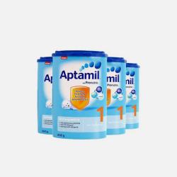 Aptamil 德国爱他美 婴儿奶粉 1段 800g*4罐 0-6个月 有效期2018年12