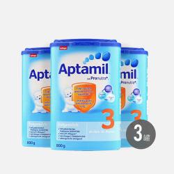 Aptamil 德国爱他美 婴儿奶粉 3段 800g*3罐 10-12个月 有效期2019年4