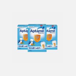 Aptamil 德国爱他美 婴幼儿奶粉4段/1+ 600g*3盒 1~2岁 有效期2019年2