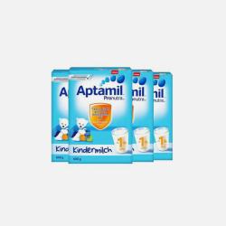 Aptamil 德国爱他美 婴幼儿奶粉4段/1+ 600g*4盒 1~2岁 有效期2019年2