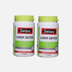 澳洲Swisse 奶蓟草护肝片 肝脏排毒120粒*2瓶 【包邮包税】