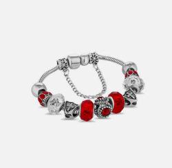 Diamond Style/钻石风尚 红色阿瓦手链 1条  小号(手链周长约18.5cm)(英国直邮/包邮包税)