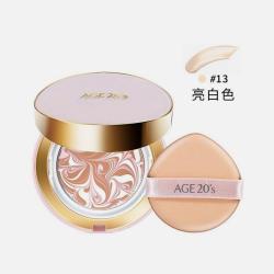 【2018年新款】爱敬 age 20's粉色BB霜气垫(正装+替换芯) 15G*2 【包邮包税】