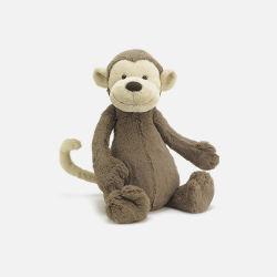 Jellycat 邦尼 害羞的猴子 安抚玩偶 (棕色 中号/31cm)新西兰直邮包邮包税