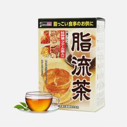 【包邮包税】日本山本汉方 脂流茶 10g*24包
