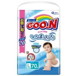 日本GOO.N/大王维E系列纸尿裤 L70【包邮包税】
