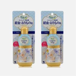 【包邮包税 2瓶装】日本KOBAYASHI小林制药 洁净干爽女性内衣清洗剂 120ML
