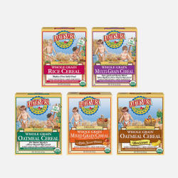 【包邮包税】美国EARTH'S BEST/爱思贝 有机米粉混合装 5种口味 227g*5