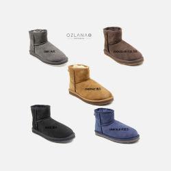 OZLANA UGG 经典款 羊皮毛一体 女 短款 雪地靴 防滑防水 澳洲直邮包邮包税