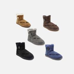 OZLANA UGG 系扣款 羊皮毛一体 女 短款 雪地靴 防滑防水 澳洲直邮包邮包税