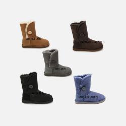 OZLANA UGG 系扣款 羊皮毛一体 女 中筒 雪地靴 防水防滑 澳洲直邮包邮包税