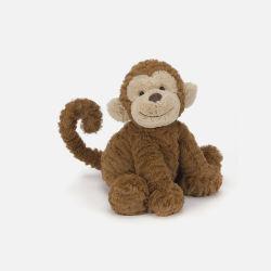 Jellycat 邦尼 波浪毛猴 安抚玩偶 棕色 中号/23cm 新西兰直邮包邮包税