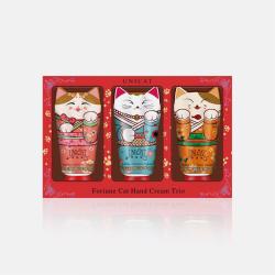 【包邮完税】中国台湾UNICAT变脸猫 护手霜套裝 檀木 40ML + 茉莉 40ML + 依兰 40ML 组合装