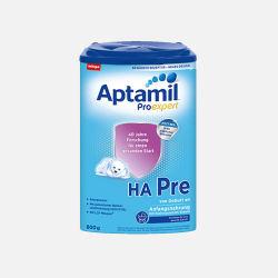 Aptamil/爱他美 半水解奶粉HA 婴幼儿奶粉 pre段(0-3个月)800g*2罐 (德国直邮/包邮包税)