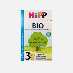 HIPP/喜宝 BIO有机婴儿奶粉 3段(10-12个月)800g (德国直邮/包邮包税)