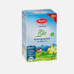 德国直邮  德国Topfer特福芬有机奶粉pre段( 0-6个月 )600g【包邮包税】