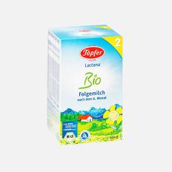 德国直邮  德国Topfer特福芬有机奶粉2段( 6-10个月 )600g【包邮包税】