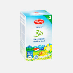 Topfer/特福芬 有机奶粉3段( 10-36个月 )600g (德国直邮/包邮包税)两周内发货