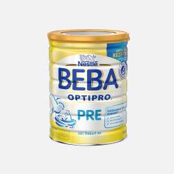 德国直邮 Nestle雀巢Beba贝巴婴幼儿成长奶粉 pre段(0-3个月)800g*4罐【包邮包税】