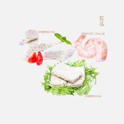 优选 新鲜冷冻海鲜大礼包2 (剥壳大虾仁300g*2袋+深海鳕鱼饼500g+深海鳕鱼肠500g)