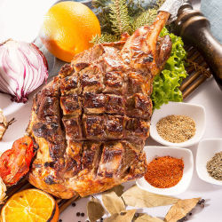 塔斯曼 Tasman Kitchen 新西兰羔羊腿 900-1000g/只*2 【新西兰冷链运输国内现货仓顺丰包邮】