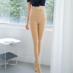 韩国LET'S DIET 9号微电流高腰袜 80斤-140斤可穿