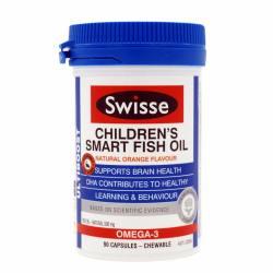 SWISSE/瑞思 儿童益智健脑果味鱼油 90粒(香港直邮)