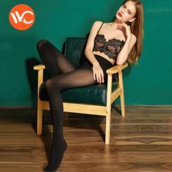 VVC 2018秋冬新款打底裤袜女连裤袜防勾丝收腹瘦腿袜 1200D加厚款2号袜