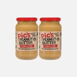 Pic's 有盐幼滑花生酱 零食 380g 两瓶 新西兰直邮 包邮包税