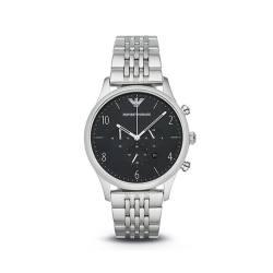 ARMANI阿玛尼 大气钢带防水腕表商务石英男款手表 AR1863