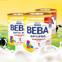 Nestle/雀巢 Beba贝巴婴幼儿成长奶粉 1+(12-24个月)800g*4罐【德国直邮 包邮包税】 新包装