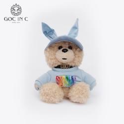 GOC IN C x DUEPLAY 18年新款兔兔熊充电宝 10000毫安(蓝兔兔款-包邮)