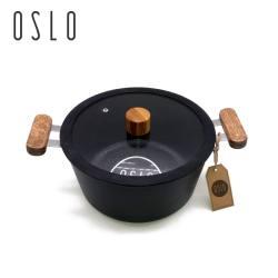 信荣 韩国进口OSLO麦饭石汤锅不粘锅(完税仓包邮发货)