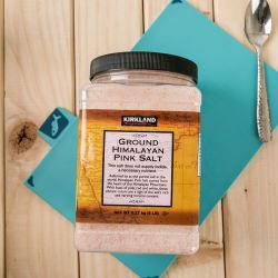Kirkland/柯克兰 喜马拉雅粉色矿盐海盐2.27kg(美国直邮/包邮包税)