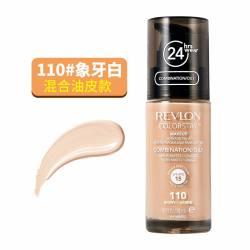 REVLON/露华浓 24小时不脱色粉底液 混油 #110 30ML(香港直邮/包邮包税)