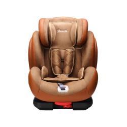 德国POUCH 9个月-12岁车载宝宝SOFIX安全坐椅KS02 棕色(完税仓包邮发货)