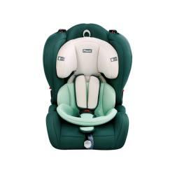 德国POUCH 适用9月-12岁儿童安全座椅车载宝宝安全座椅Q19 墨绿色(完税仓包邮发货)